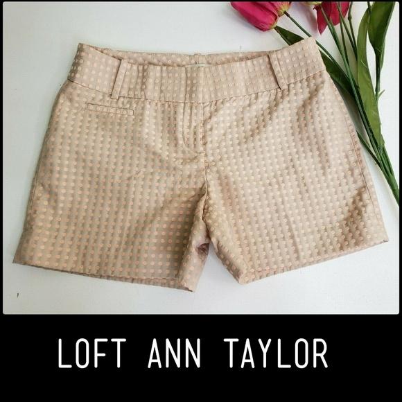 Ann Taylor Pants - Ann Taylor LOFT Flat Front Casual Dress Short Sz 0